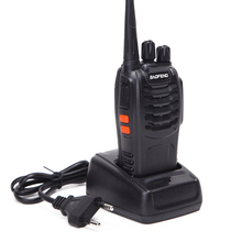 Baofeng BF 888S mini walkie talkie rádio portátil cb rádio bf888s 16ch uhf comunicador transmissor transceptor presunto rádio em dois sentidos