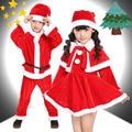 2016 Novo Romper Do Bebê Natal Xmas Set Vestido de Natal Das Crianças Do Miúdo Da Menina do Menino Traje de Papai Noel de Natal das Crianças do Terno