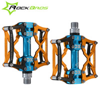 ROCKBROS MTB Road Bicycle Pedal Cycling Pedals Foot Pegs Outdoor Sport Riding Road Bicycle Parts Bearing