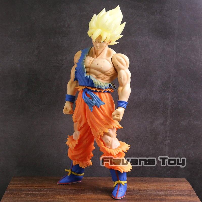 Dragon Ball Z Super Saiyan Son Goku Super grande taille 44 cm PVC figurine à collectionner modèle jouet sans boîte au détail