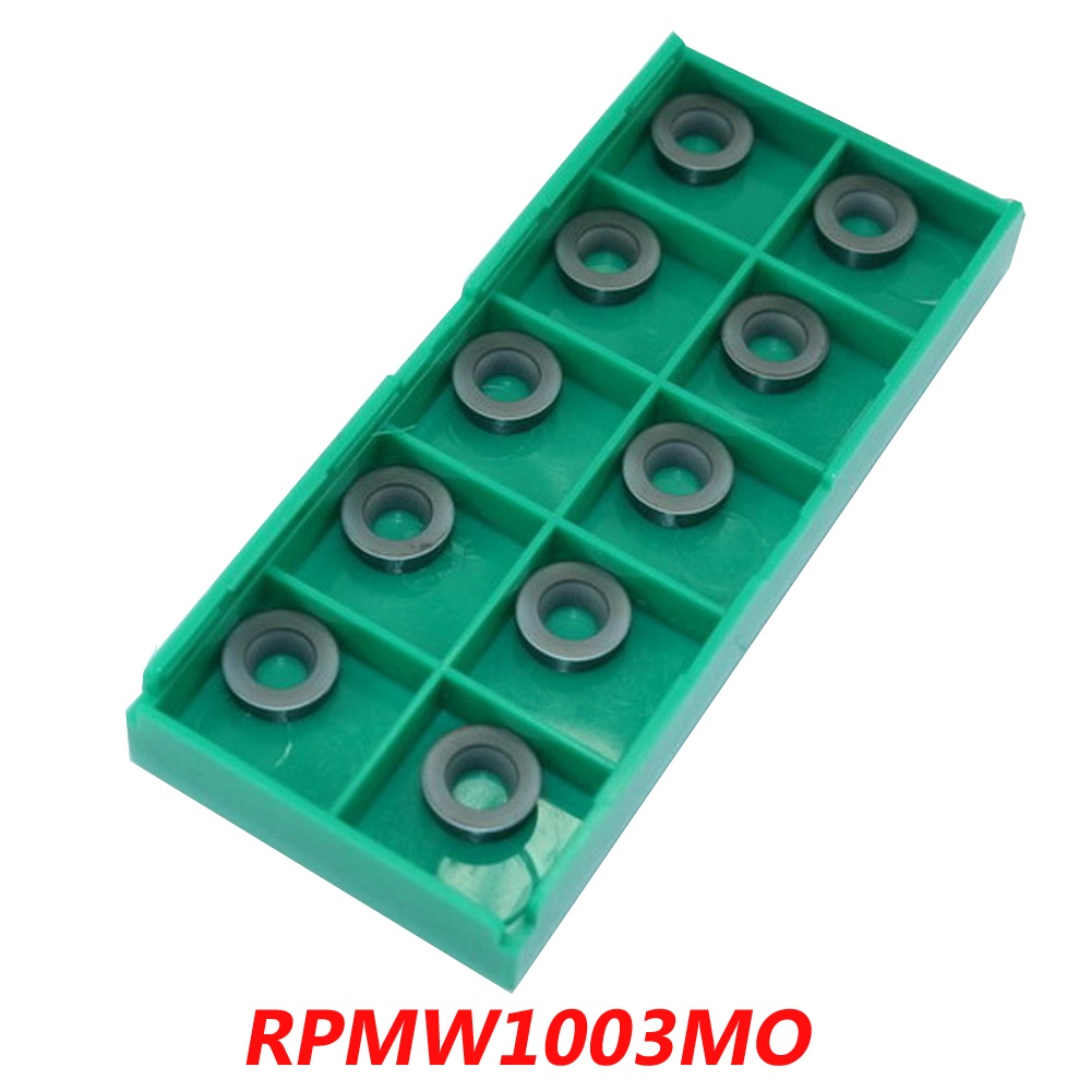 Free Shipping Carbide Rotating Milling Inserts RPMW1003MO For face Mill Cutter EMR Series Tools Suitable NC/CNC Milling Machine
