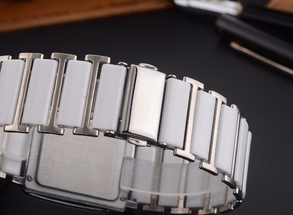 Montres Quartz Étanches Design élégant Céramique
