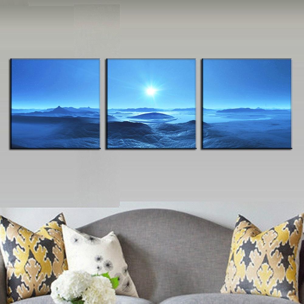 Großartig Wohnzimmer Bilder Modern Ideen Von Aliexpressreview : Buy 3 Teile/los Moderne Wandkunst