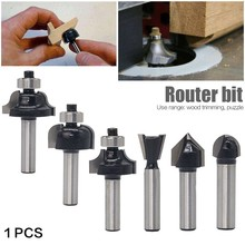 1PCS 8mm Shank Wood Router Bit Straight End Mill Trimmer Cleaning Flush Trim Corner Round Cove Box Bits Tools Milling Cutter цена