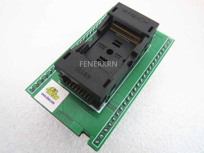 Opentop DIL48 TSOP56 ZIF 18 4mm FLASH 1 BEEPROG2 IC Burning Adapter testing seat Test Socket
