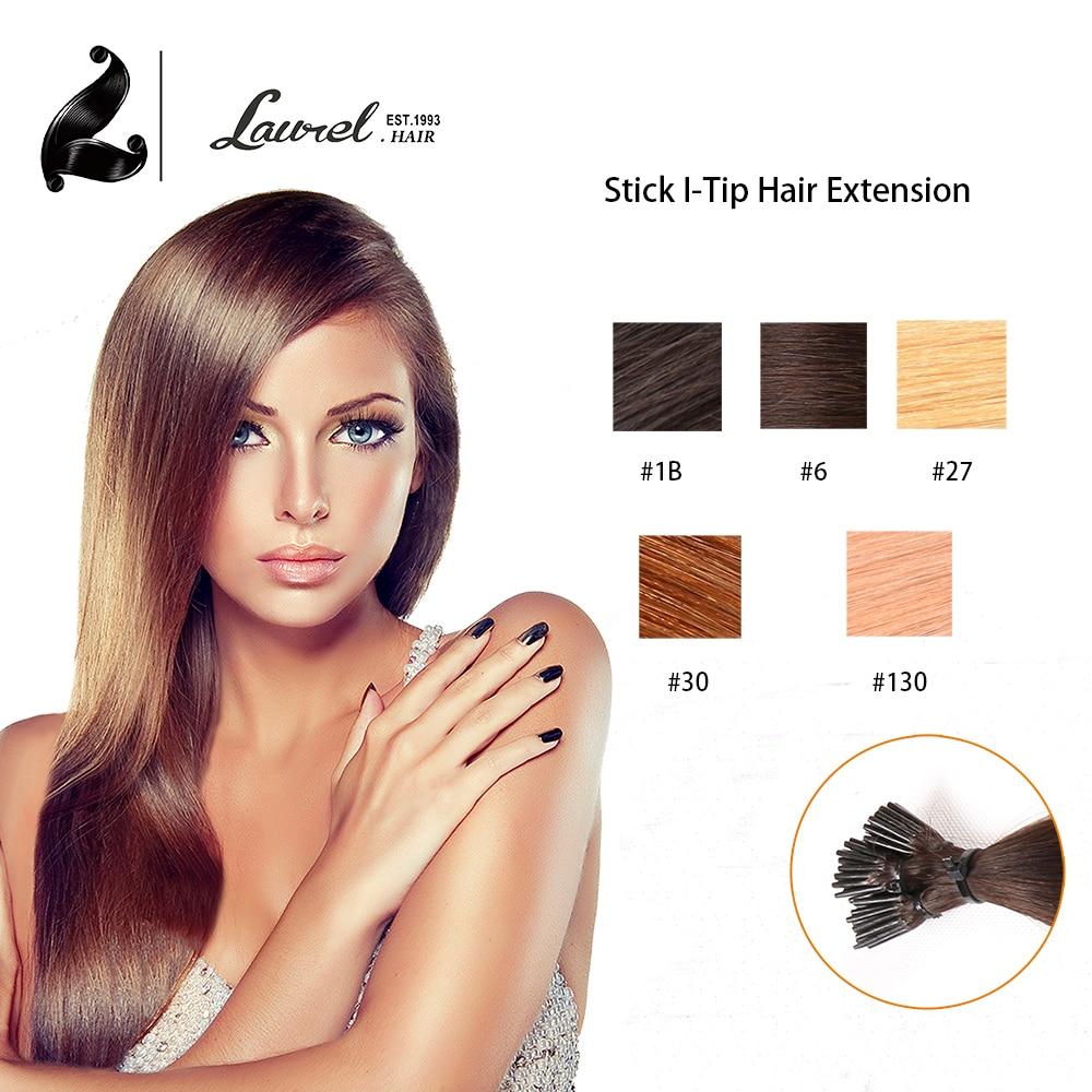 Hot Selling I Tip Stick Tip font b Hair b font Extensions 16 18 20 22