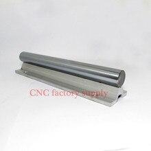 Ücretsiz kargo SBR12 12mm raylı L700mm doğrusal kılavuz cnc router kısmı lineer ray