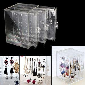 Image 3 - Ücretsiz kargo 200 delik küpe çıtçıt kolye takı vitrin rafı standı organizatör tutucu depolama