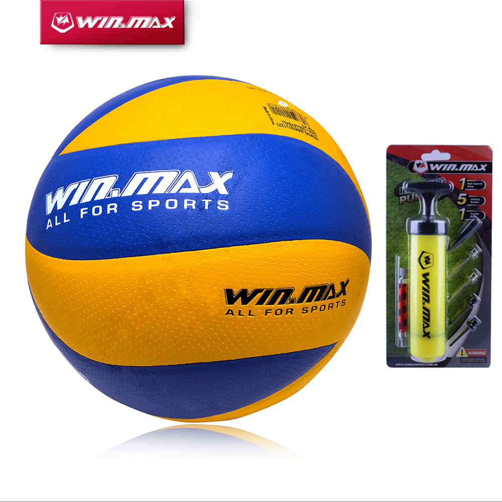 New Hot Winmax Official Weight And Size 5 PU Volleyball 8 Panels  Volleyball Indoor&Outdoor Training Ball Match Volleyball Ball