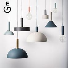 Simple DIY Pendant Lamp Kitchen Dining Room Shop Decorate Lights Modern Art Creative Lighting