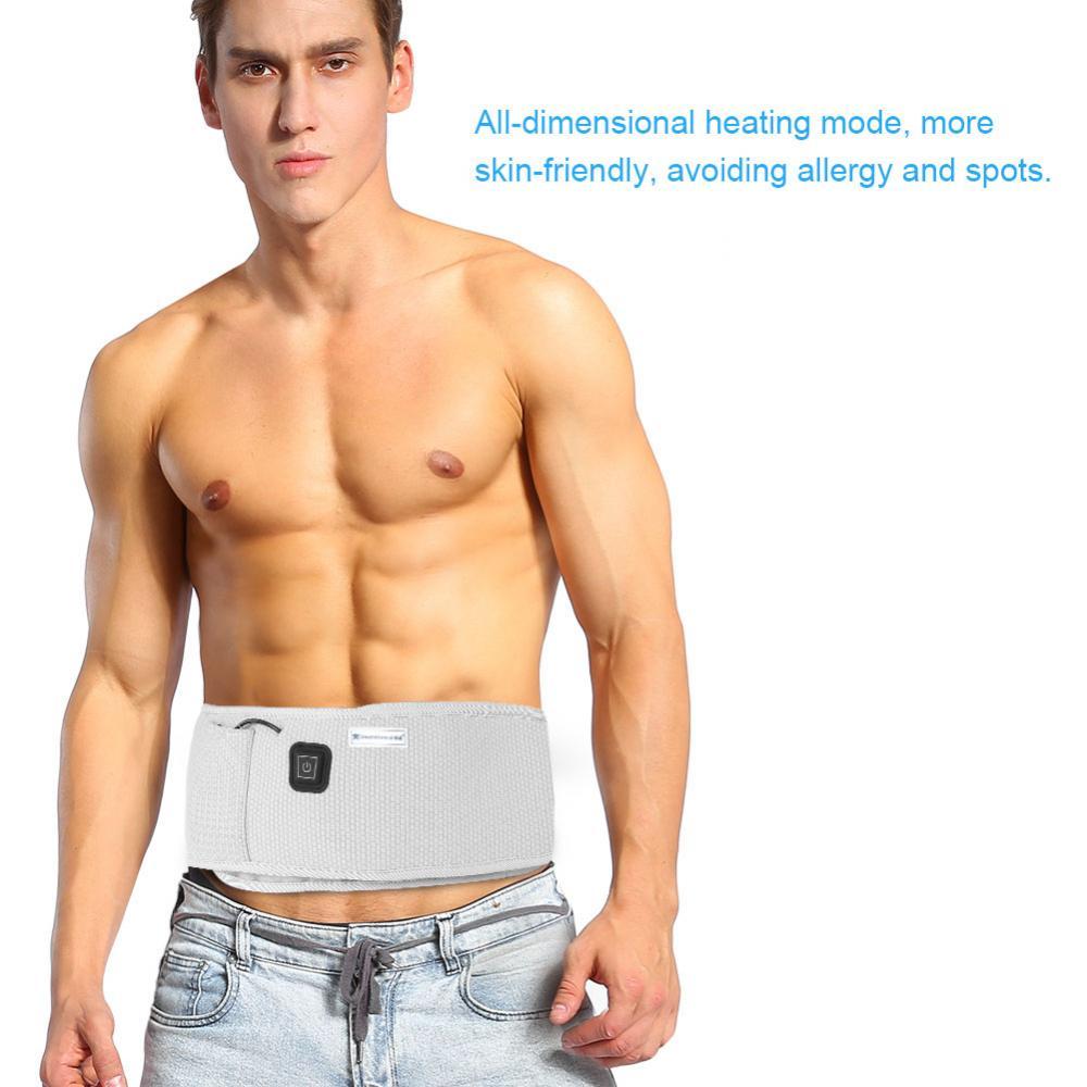 2 colores masajeador vibratorio cinturón de calentamiento de grasa infrarrojo adelgazante pérdida de peso vibración herramientas de cuidado de la salud-in Tratamientos de relajación from Belleza y salud    1