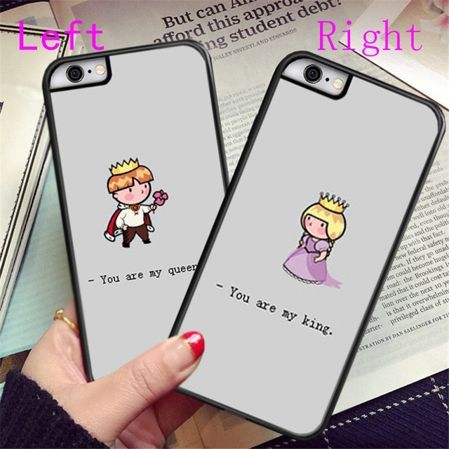 cda30b81f2 King Queen Cute Lover Couple Cases for meizu MX4 MX6 pro M1 M2 M3 note Couple  Cases Best Gifts for Boyfriend & Girlfriend