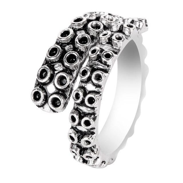 Women's Octopus Tentacle Adjustable Ring 4