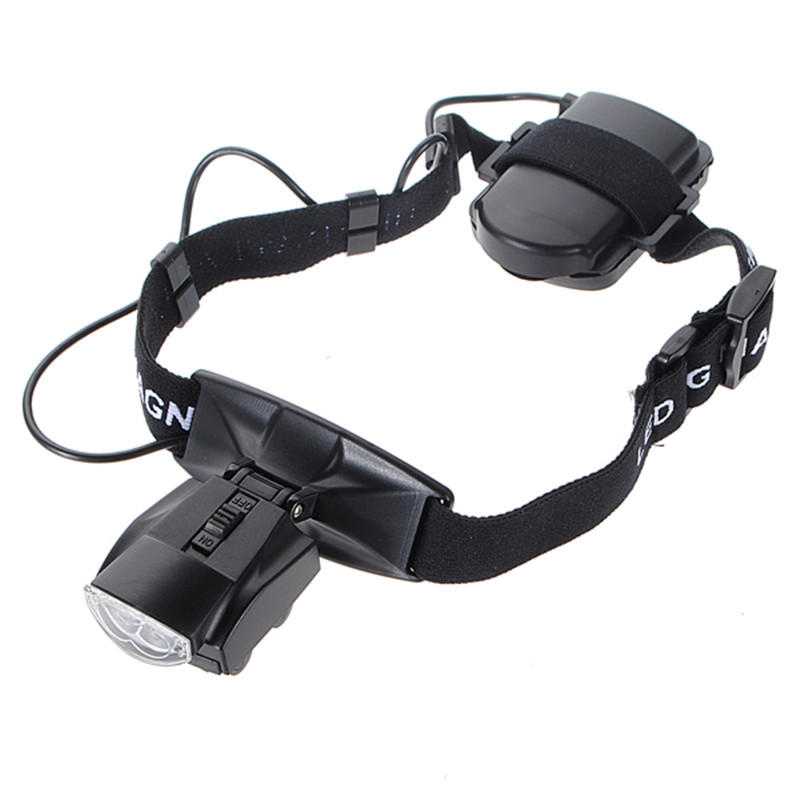 Brand New 5 Lens Loop Head for Band VISOR Magnifier LED Magnifying Glass Loupe 1 0x