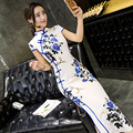 Charming Traditional Chinese Women's Cheongsam Mini Evening Dress Qipao Dress