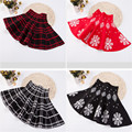 Fashion Spring Autumn Girl Skirt Knitting Toddler Kids Clothes Casual Saias Baby Girls Skirts Faldas Children Clothing 2-13Y
