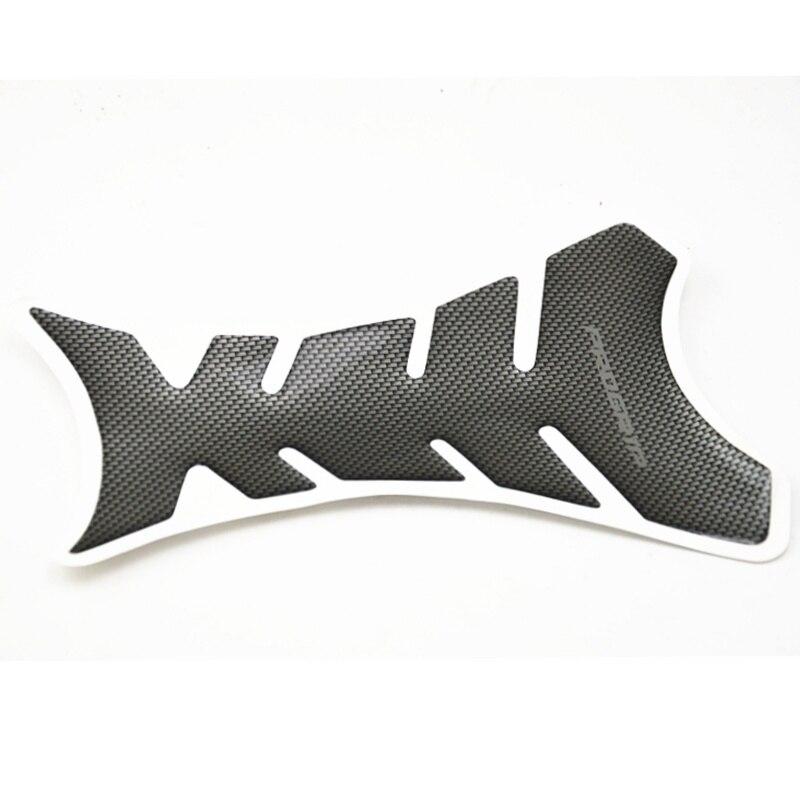 1 шт. Универсальный углеродного Волокно бак мотоцикла Pad Protector Стикеры рыбья кость Стиль масляный бак мотоцикла Наклейки