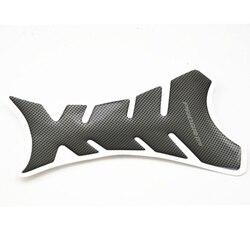 1 шт. универсальная защитная накладка на бак мотоцикла из углеродного волокна наклейка рыбья кость стиль мотоциклетный масляный бак наклей...