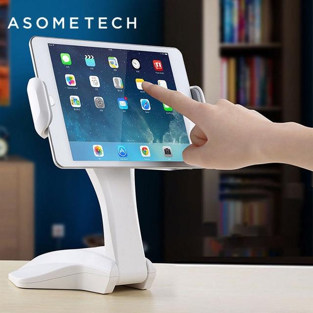 360 Derece Rotasyon Tablet Standı Ayarlanabilir 7 15 inç Tablet Tutucu Için Ipad/Xiaomi/Huawei/Samsung evrensel Montaj Tutucu Braketi