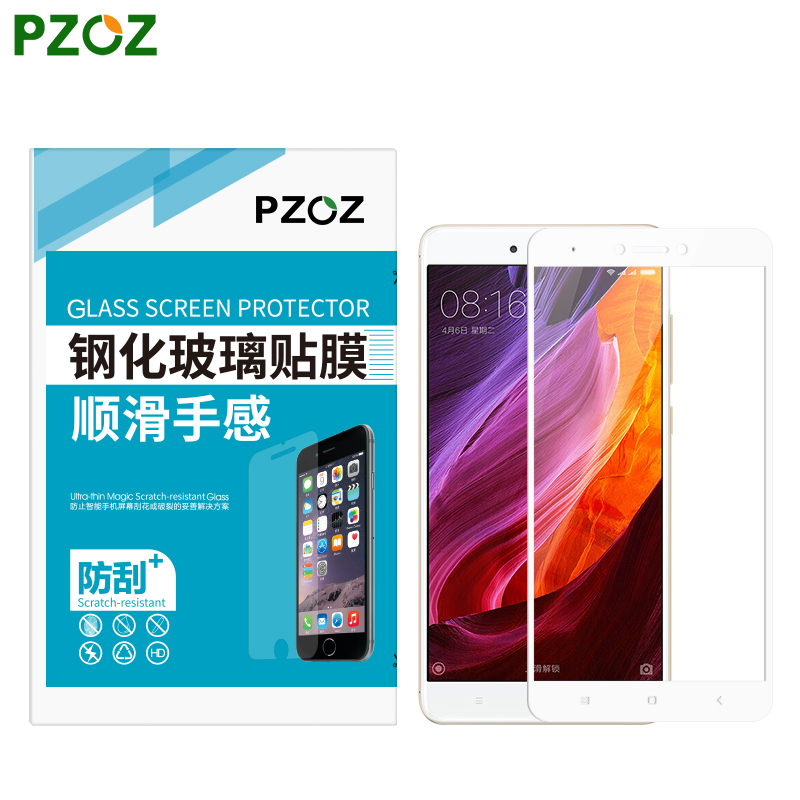 PZOZ Tempered Glass For Xiaomi RedMi Note 4X Screen Protector Original Xiaomi RedMi Note 4 Pro Film Xiomi Redmi Note4