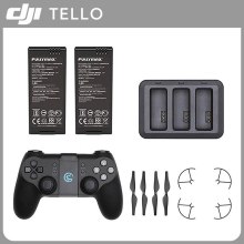 DJI RYZE TELLO Drone Battery Charger Charging Hub Remote Controller Props Guard DJI Parts Accessories dji gamesir t1d controller changing your mobile phone into an unmanned aerial vehicle controller compatible with dji ryze tello