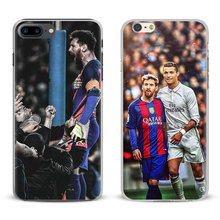 Lionel Messi Leo Coque For Apple iPhone X 8Plus 8 7Plus 7 6sPlus 6s 6Plus 6 5 5S