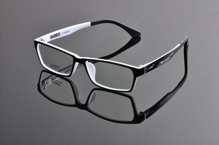 Рецепт очки Разноцветные Очки для Для мужчин Для женщин унисекс очки óculos де desporto dd0880 - Цвет оправы: black white