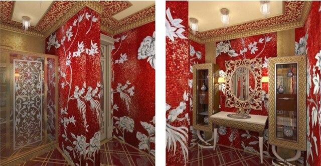 Wunderbar Mosaic Mural Für Bad, Luxus Glasmosaik Kunst Wandbild Für Wand
