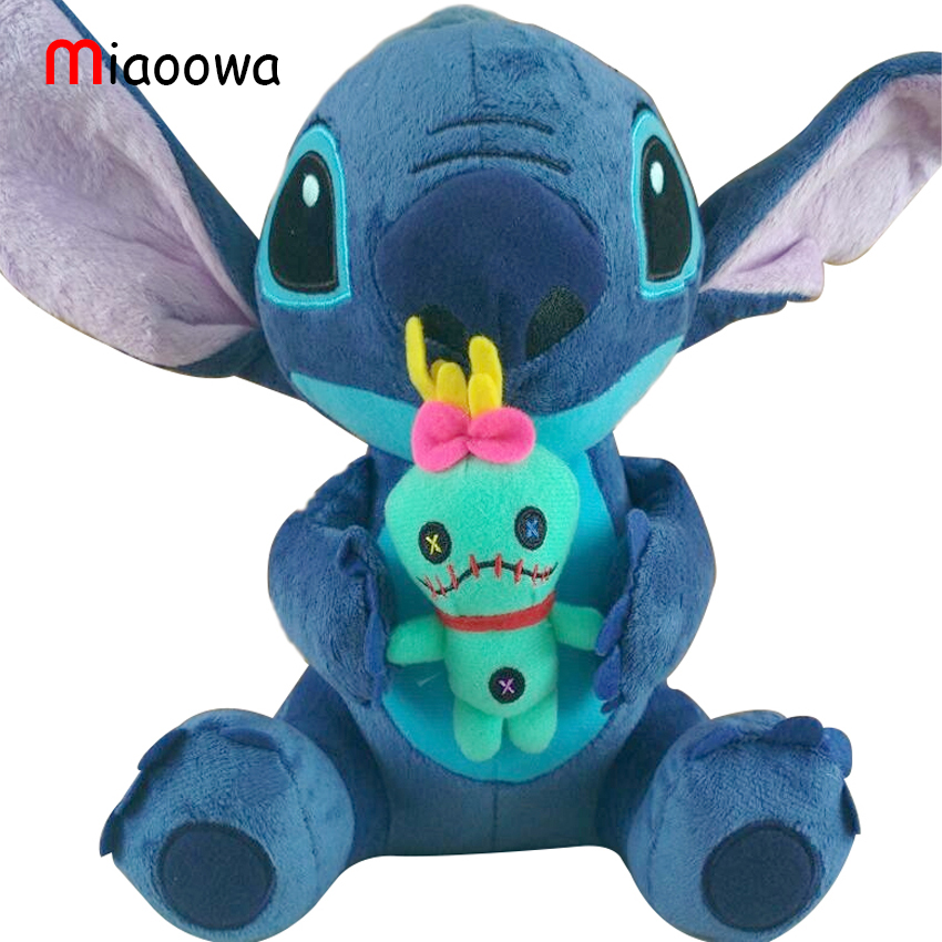 59159bbc0724 1pc 23cm Hot Sale Cute Cartoon Lilo and Stitch Plush Toy Soft ...