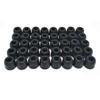 40 pièces/20 paires ANJIRUI T100/T200/T400/T500 (S M L) coussinets d'oreille de calibre/capuchon pour casque d'oreille embouts casque éponge accessoires
