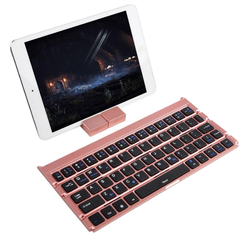Bluetooth Clavier Pliant Clavier Portable Pour IOS Android Mobile Téléphone Tablet SL @ 88