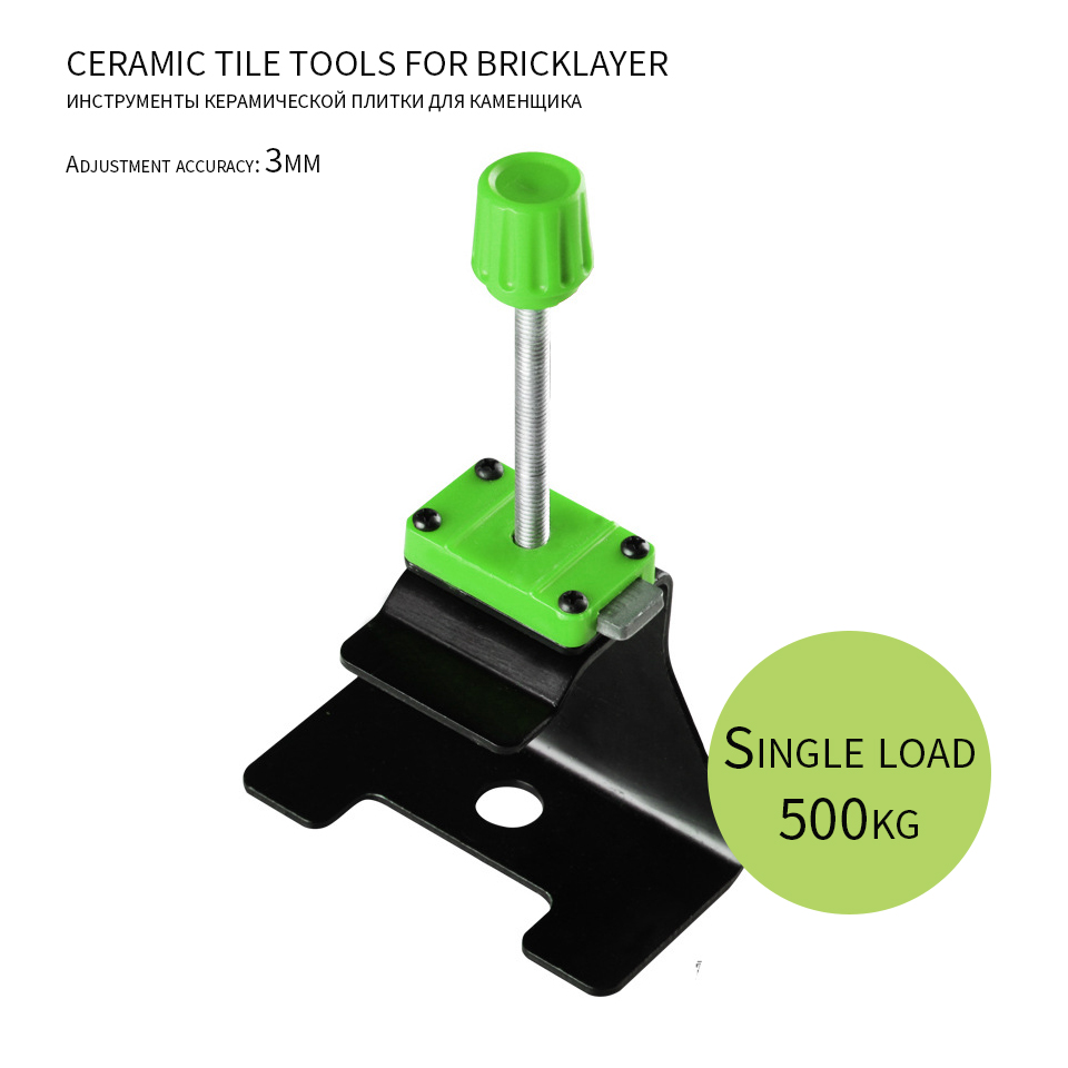 Tile Height Adjustment Stainless Steel Wall Tile Height Locator Reusable Tiles Leveling System Construction Tools Piastrelle