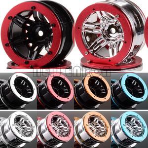 Image 1 - ENRON jantes à billes RC 1:10, 4 pièces, pour voiture à chenilles, pour voiture D90 CC01 HSP Axial SCX10 SCX10 II YETI Traxxas TRX4, 2.2 pouces, nouveauté