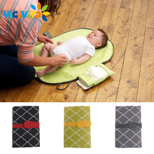 Waterproof Baby Changing Mat Sheet Portable Diaper Changing Pad Travel Table Changing Station Kit Diaper Clutch Care Products ^