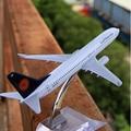 Terebo Lufthansa B-737 пассажирский самолет сплава модель 16 СМ/6.3in