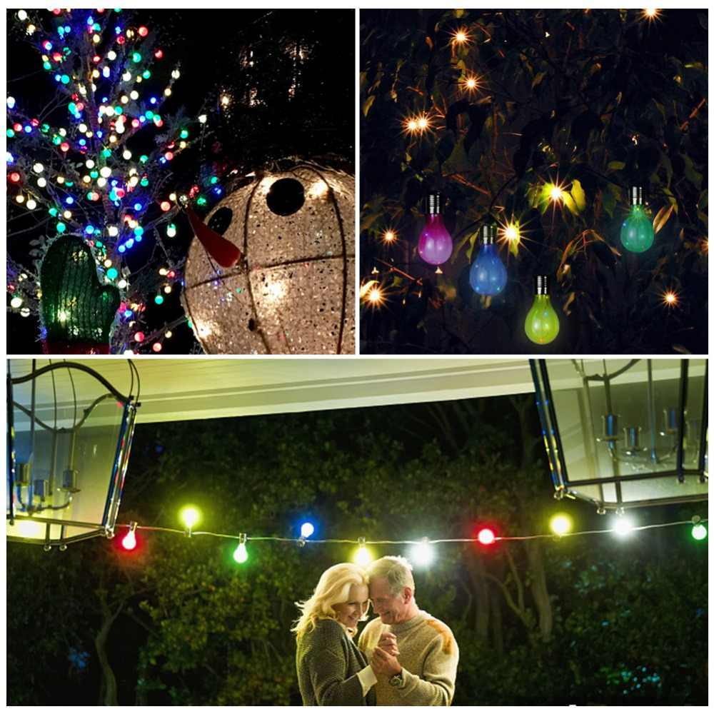 Solar Led Light Bulb Hanging Lamp With