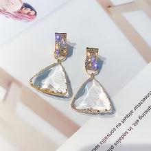 Женские Треугольные Серьги подвески ustar модные геометрические