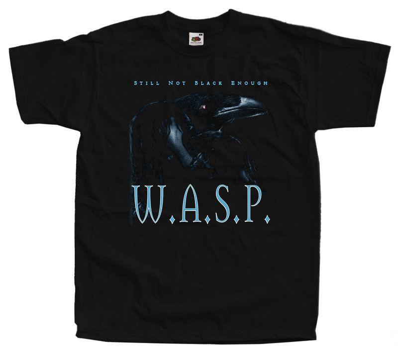 W.A.S.P. - Still Not Black Enough WASP T-shirt black sizes S-5XL 100% cotton