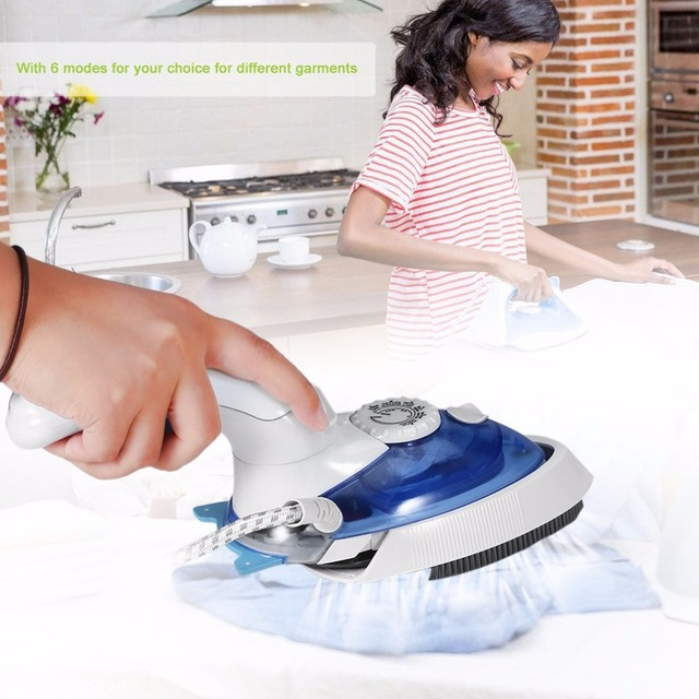 Portable Handheld Household Steam Electric Iron Garment Steamer 6Modes Clothing Cleaning EU Plug Sterilization Laundry Appliance 5