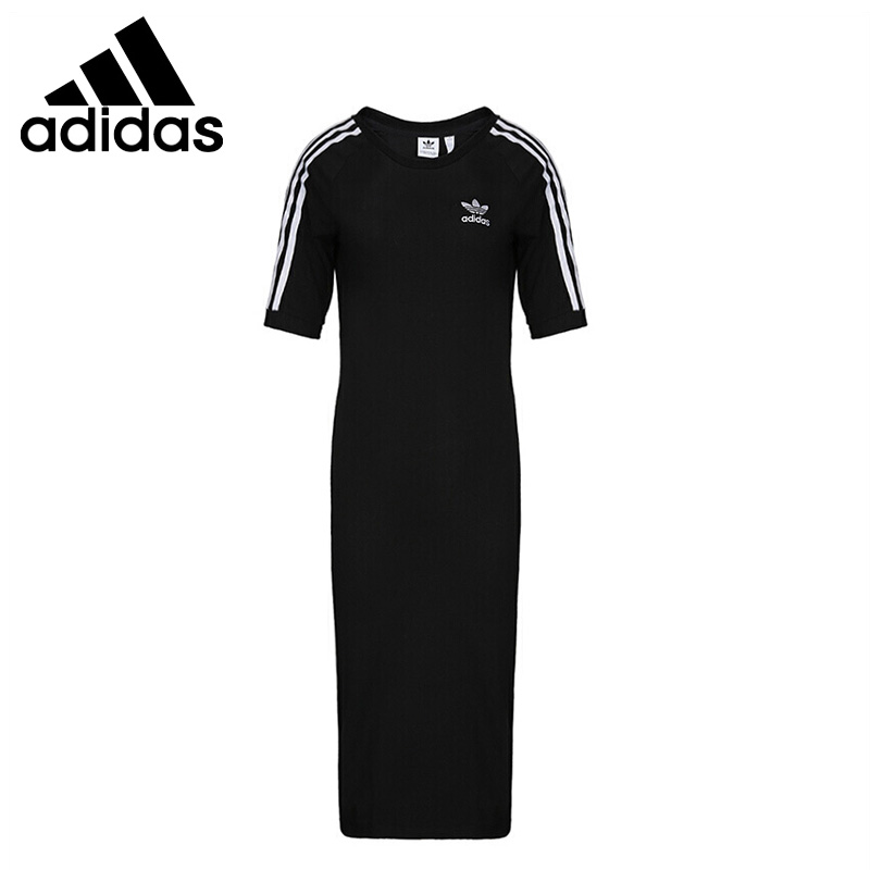 Original New Arrival Adidas 3 STRIPES DRESS Women s Dress Sportswear