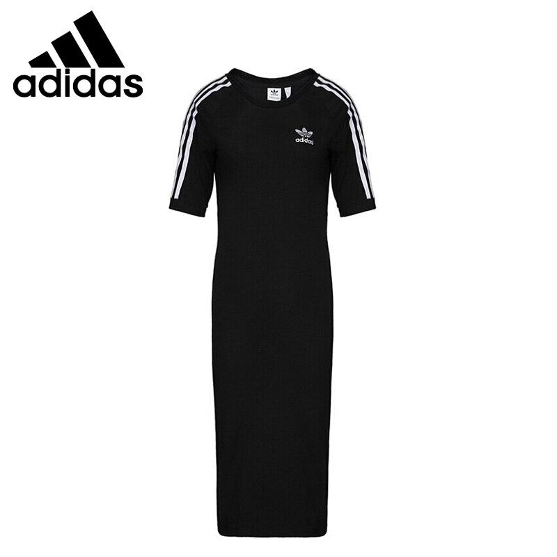 Original Neue Ankunft Adidas 3 STREIFEN KLEID frauen Kleid Sportswear-in Tennis-Kleider aus Sport und Unterhaltung bei AliExpress - 11.11_Doppel-11Tag der Singles 1