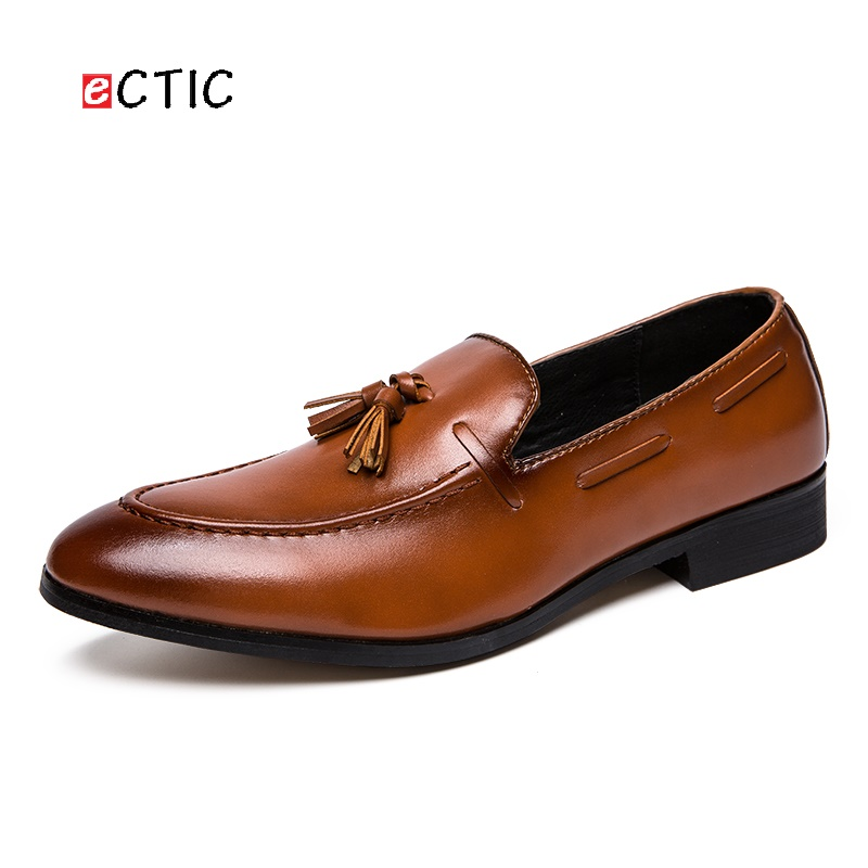 Detail Feedback Questions about Ectic Swag New Classic Elegant Italian Men  Penny Loafer Formal Dress Wedding Shoes Luxury Style Calcado Hombre on ... 3eaf2ff6035e