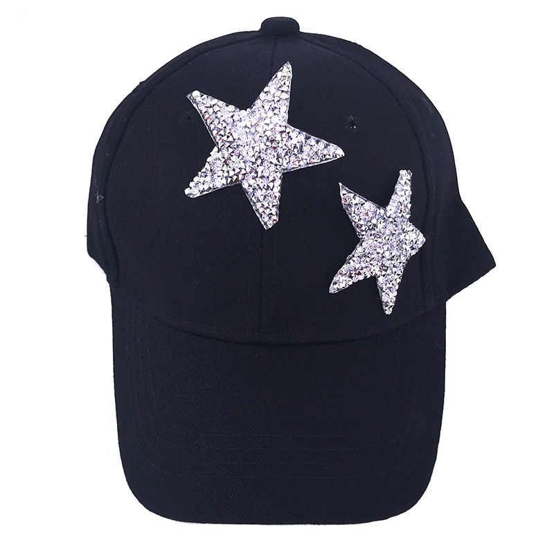 Verano bebé niños niñas estrella gorra de béisbol sombreros niños niño algodón ajustable Snapback sombreros sombrero sol escuela regalos