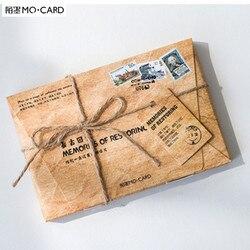 Mo. karte Erinnerungen An, die postkarte lesezeichen Brief papier gruß karte/1 lot = 1 pack = 30 stücke