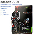 Original Colorful iGame 1060 U - 3GD5 Top Graphics Card GeForce GTX 1060 GPU Chip 192bit 3GB GDDR5 120W Three Fans Cooling Fan