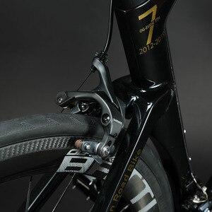 جديد الكربون الطريق الدراجة UD كربون صقل كاملة دراجة الطريق 700C عجلات دراجة V-الفرامل OG-EVKIN 2019