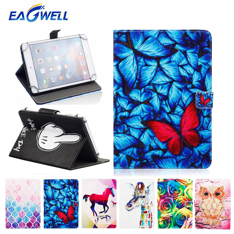 PU Leather Universal 9.7 inch 10 inch 10.1 inch Tablet PC Case Flip Stand Smart Cover for iPad Samsung Lenovo Tablets Case Coque flip left and right stand pu leather case cover for blu vivo air