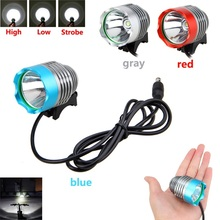 1000 Lumens XM-L T6 LED Bicycle Headlight Waterpoof Bike Light Lamp Cycling Bike Bicycle Front Light & o-ring 3 Colors стоимость