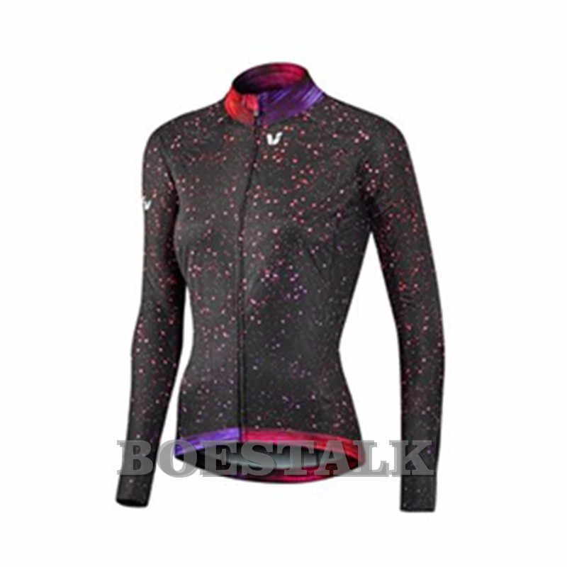 2018 liv race day warm women Winter Long sleeves Jacket Climbing top Jerseys  Racewear pro team c5237b2e5