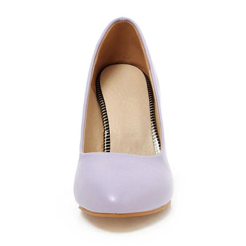 Luxe on Chaussures purple Robe Pompes white Mince Partie De Nude Talon Stilettos 2018 Dames apricot Femmes Slip Filles Fanyuan Haute Sexy Talons Profonde Peu Black zH7EBccqw